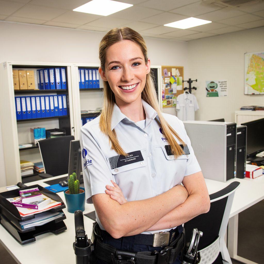 Lisa Gerlo speelt Emma Claes in De Buurtpolitie