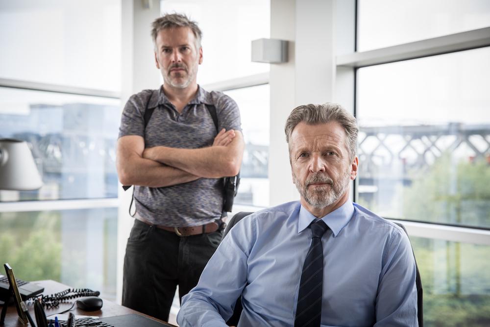 Lucas van den Eynde en Steve Geerts in The Team 2