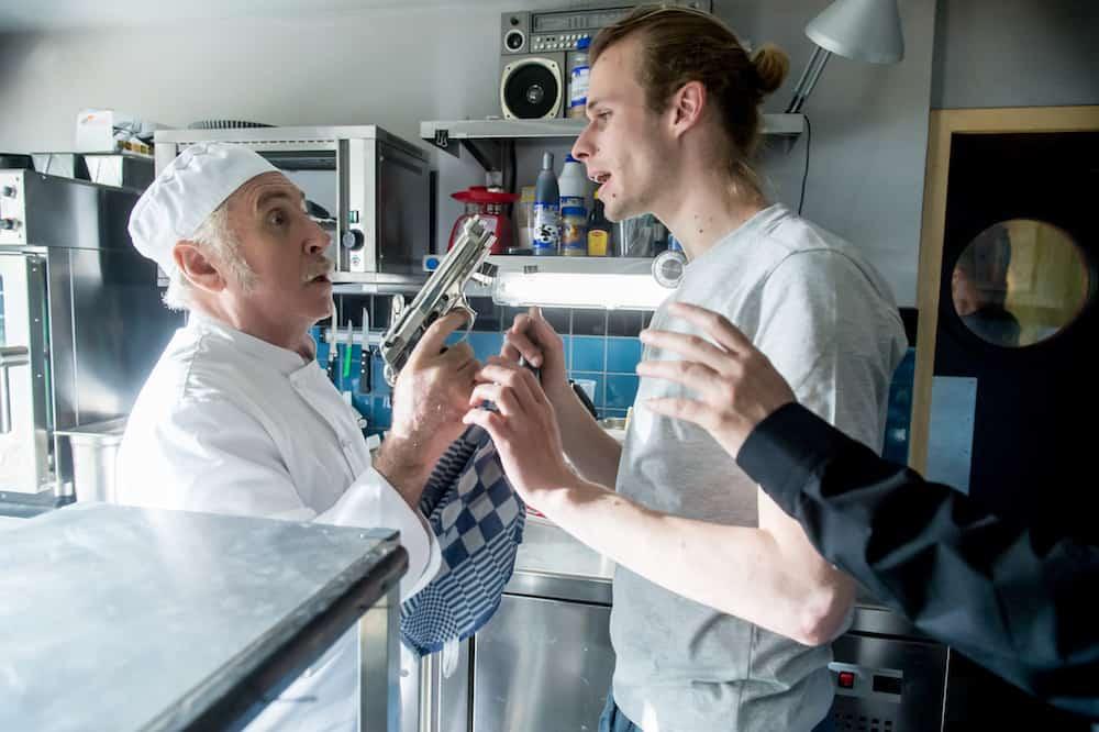 Johny Voners (Berten) en Mathieu Sys (Dylan) in Amigo's